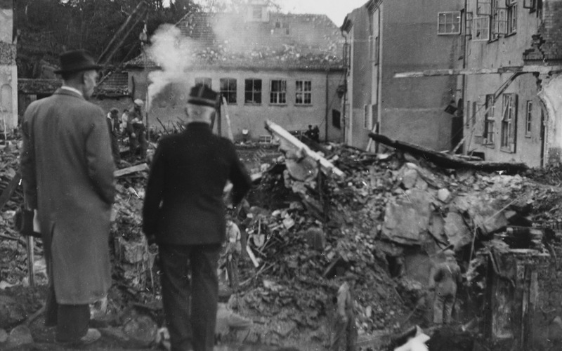 Image result for bombing of laksevåg